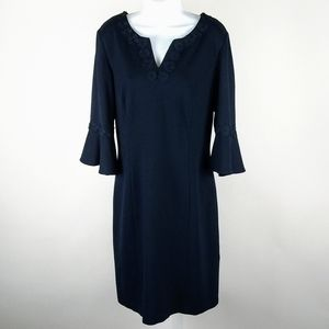 Talbots lightly fitted dress